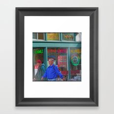 Gyros of Seattle Framed Art Print