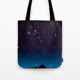 Where do we look for us. Tote Bag