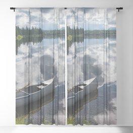 Tranquility At Its Best - Alaska Sheer Curtain