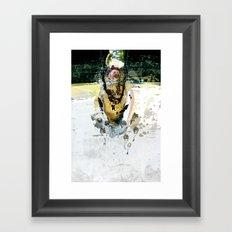 vitriol 7 Framed Art Print