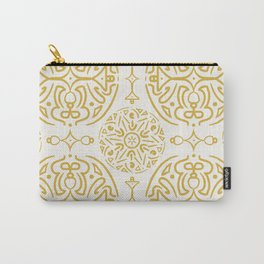 Nordic Gold #society6  #pattern Carry-All Pouch