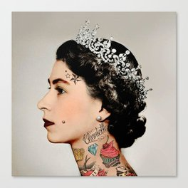 Rebel Queen Canvas Print
