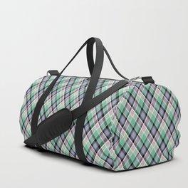18 Plaid Duffle Bag