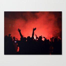 Barcelona party Canvas Print