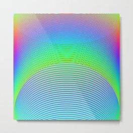 Endless Rainbow Metal Print