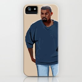 Blue Outfit iPhone Case