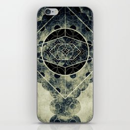 Sacred Geometry for your daily life -  SATURN EYE iPhone Skin