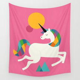 To be a unicorn Wall Tapestry