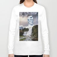 lincoln Long Sleeve T-shirts featuring Lincoln 2079 by John Turck