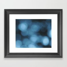 Blue Abstract 1 Framed Art Print