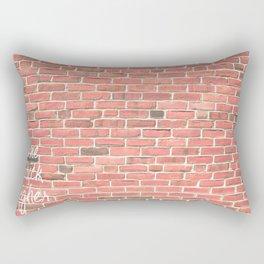 One Brick Higher Rectangular Pillow