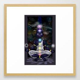 Chakra Man Framed Art Print