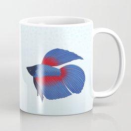 betta splendens royal blue male Coffee Mug