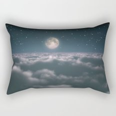 Traveling to the Moon Rectangular Pillow