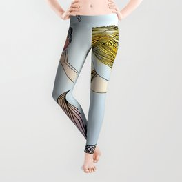 Jellyfish and Mermaid Leggings