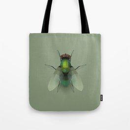 Geometric Fly - Modern Animal Art Tote Bag