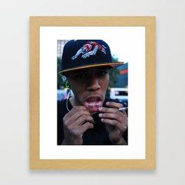 Darren Framed Art Print