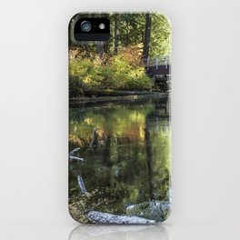 Fall at Clear Lake, No. 2 iPhone Case