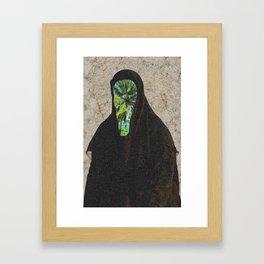 Miss Palms Framed Art Print