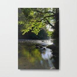 Riverside Zen Metal Print