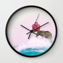 mystery zoo Wall Clock