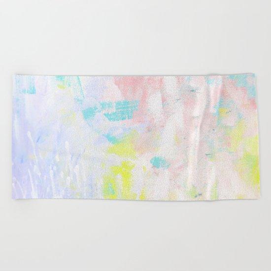 nuru #62 Beach Towel