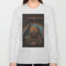 Temples and Architecture of Kathmandu City, Nepal 003 Long Sleeve T-shirt