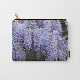 Whimsical Wisteria Carry-All Pouch