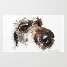 Dogface Golden Doodle Rug