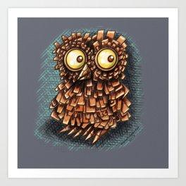 Composite Owl Art Print