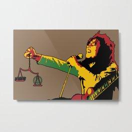 Redemption - Reggae Marley Metal Print