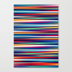 Blurry Lines Canvas Print