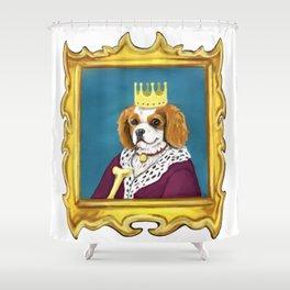 King Charles Cavalier Shower Curtain