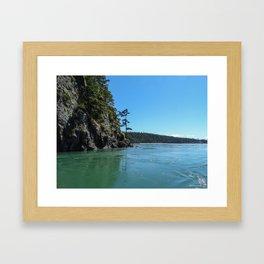 Canoe Pass Framed Art Print