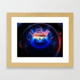 A Heart In Half Framed Art Print
