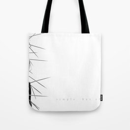 Simple - but effective. Tote Bag
