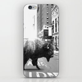 Street Walker iPhone Skin