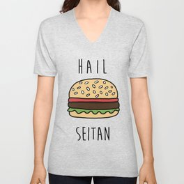 Hail Seitan Unisex V-Neck