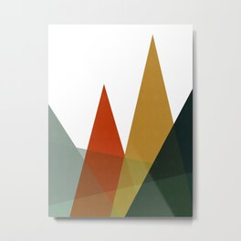 Harmonious landscape III Metal Print