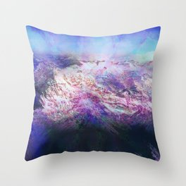 Andes (A Seismic Portrait) Throw Pillow
