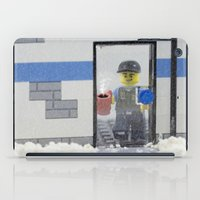 police iPad Cases featuring Police Officer by Pedro Nogueira