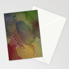 Watercolor Abstract Mini Series #2 Stationery Cards