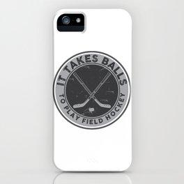 Field Hockey iPhone Case