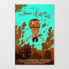 eddy with eel Canvas Print