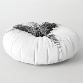 Particles and Angels Floor Pillow