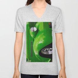 Green Machine Unisex V-Neck