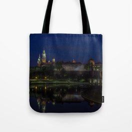 Castle on the Hill. Tote Bag