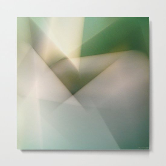 Space Geometry II/III Metal Print