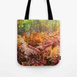 Autumn fern Tote Bag
