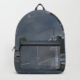 Raubvogel Backpack